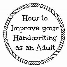 improve your handwriting worksheets for adults 21875 exercises to improve handwriting as an and review of fix it write crafting tutorials to