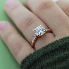 rose gold engagement rings and wedding bands rose gold engagement rings miadonna 174 the future of diamond 174