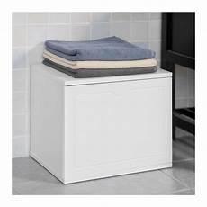 banc de rangement salle de bain 106523 banc de rangement salle de bain panier 224 linge meuble d entr 233 e blanc sobuy 174 fsr46 w
