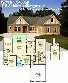 single story house plans with bonus room inspirational ranch house plans with bonus room above
