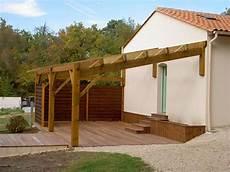 fabriquer un abri bois soi meme construire une pergola en bois pergola bois construire
