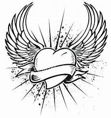 easy wings drawing at getdrawings free