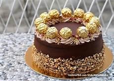 torta con ferrero rocher sbriciolati ferrero torta coolinarika