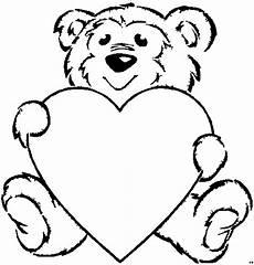 Malvorlagen Kinder Herz Baerchen Grosses Herz Ausmalbild Malvorlage Kinder