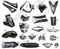 Variasi Motor Aerox 155 by Jual Variasi Paket Modifikasi Carbon Yamaha Aerox 155