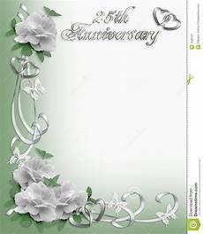 cadre photo anniversaire gratuit 25 232 me cadre d invitation d anniversaire illustration stock