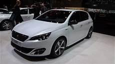 peugeot 308 gt 2016 peugeot 308 gt line exterior and interior geneva