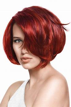 versatile and feminine red bob hairstyles red hairstyle
