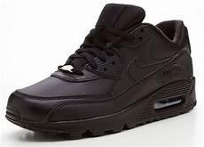 nike air max 90 leather black trainers 302519 001 ebay