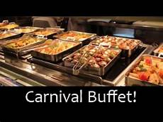carnival cruise food mexican buffet youtube