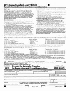 3539 corp form fillable payment for automatic extension for corps and exempt orgs