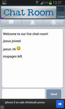 Live Chat Room For Free