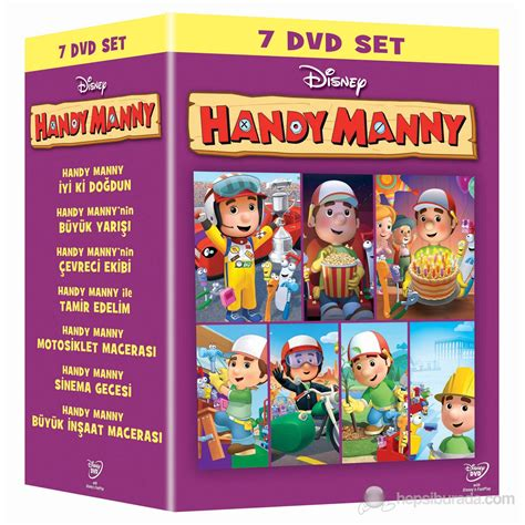 Handy Manny Dvd Box Set