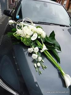 ventouse voiture mariage montage fleurs voiture mariage