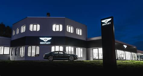Bentley Opens New Showroom In Its Biggest Central European