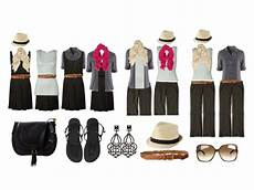 travel apparels minimalista travel packing how to mix and match 4 clothes