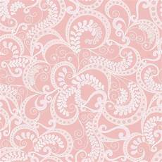light pink patterned wallpaper ornate seamless pattern on pink background stock vector