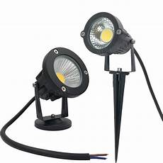 free shipping garden spot light led cob 3w 5w ip65 outdoor