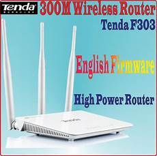 english firmware n300 tenda f303 300mbps wireless router 300m wifi repeater four ports range