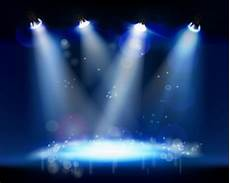 12 crowd stage background psd images concert crowd stage lights silhouette dark blue