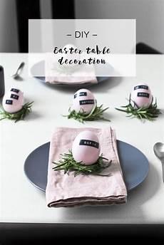 Malvorlagen Urlaub Diy Diy Minimalistische Ostern Tischdekoration Look Was Ich