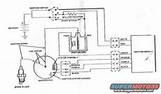 95 ford bronco ignition wiring diagram 1986 ford bronco duraspark ii wiring diagram picture supermotors net