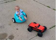 Attaches Remote Car To S Baby Seat And