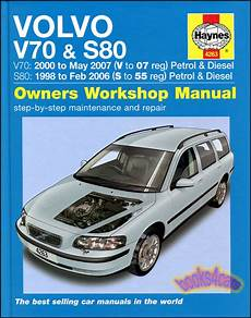 car owners manuals free downloads 2007 volvo s80 on board diagnostic system volvo shop manual haynes service repair book s 80 v 70 chilton workshop owners 9780857339072 ebay