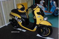 Modifikasi Scoopy New by Modifikasi All New Scoopy 1 Aripitstop
