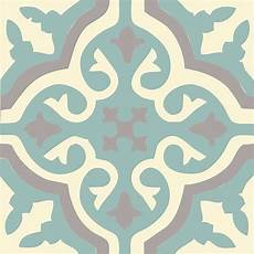 carreau de ciment authentique en bleu canard et gris taupe