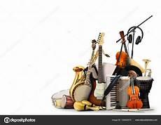 musikinstrumente orchester oder eine collage aus musik