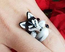 3 Teiliges Faultier Ringset 3 Sloth Ring Set In
