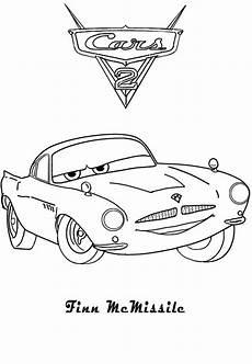 Malvorlagen Mc Pdf Ausmalbilder Cars Finn Mcmissile Ausmalbilder
