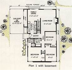 western ranch house plans united states 1962 r 177 a western ranch house