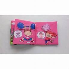 jual lawan kata softbook baby edukatif interaktif buku kain bantal edukasi motorik untuk
