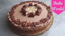 kinder bueno torte selber machen ohne backen schnell