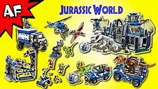 every lego jurassic world set complete collection