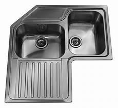 lavelli ad angolo misure lavello roma ad angolo 83x83 cm inox spazzolato 2 vasche