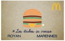 carte étudiant mcdo bienvenue dans votre restaurant mcdonald s royan