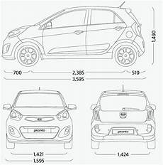 dimension kia picanto kia picanto malaysian specs previewed on website image 204737