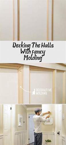 decking the halls with fancy molding in 2020 hallway