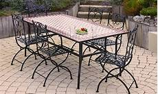 table jardin fer forgé table de jardin fer forge