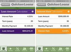 quicken loans refinance rates