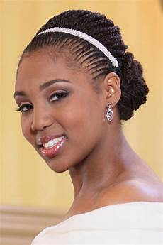 Black Wedding Hairstyles With Braids