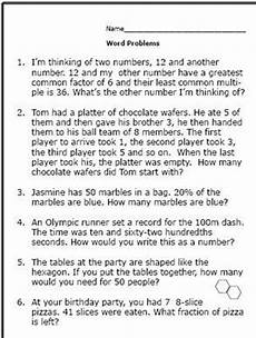decimal worksheets grade 6 word problems 7468 realistic math problems help 6th graders solve real questions fraction word problems