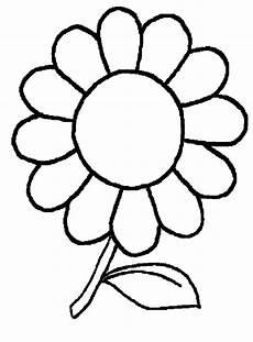 Blumen Malvorlage Kinder Blumenbilder Zum Ausdrucken Kostenlos Kinderbilder