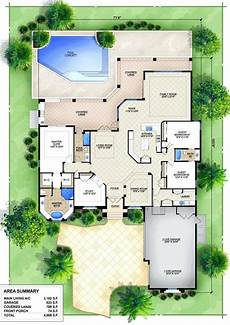house plans with pools in the middle u shaped house plans with pool in the middle house