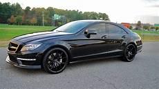 2012 mercedes w218 cls63 amg on r22 black wheels