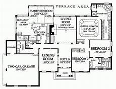 2700 square foot house plans southern style house plan 3 beds 2 baths 2639 sq ft plan