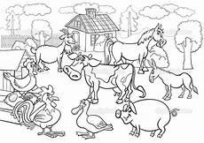 Bauernhoftiere Ausmalbilder Ausmalbilder Bauernhoftiere Kostenlos Malvorlagen Zum